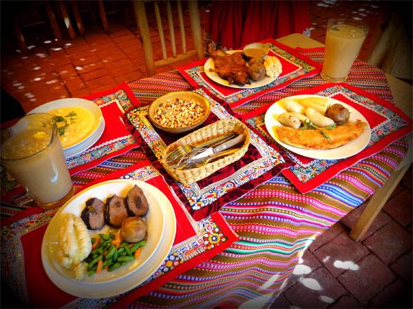 Gastronomía del Valle del Colca